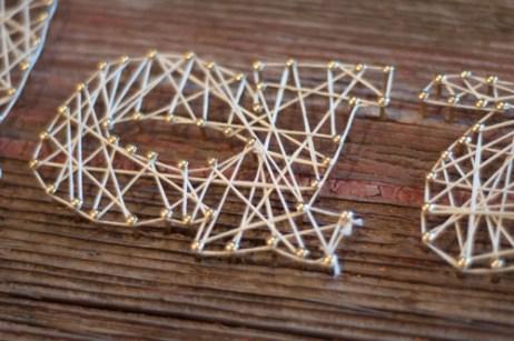 DIY String Art, fun and super easy!
