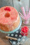 Maraschino Cherry Angel Food Cake