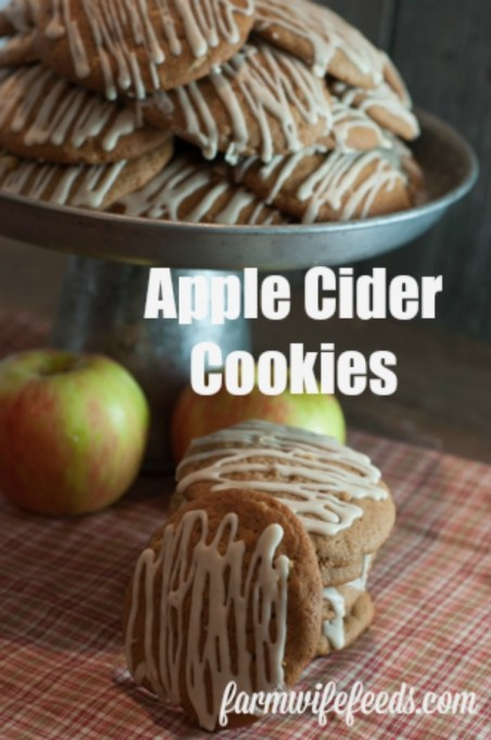 These amazing Apple Cider Cookies are the perfect Fall cookie for snack or desert! Friends and family will rave! #apples #cookies #recipe