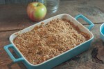 This super easy perfect oatmeal topped Apple Crisp recipe is a family favorite!