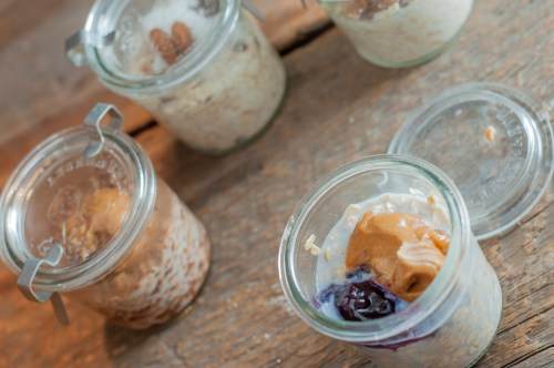 Overnight Oats In A Jar are the easiest way to make sure kids get a good start to the day even when they are running out the door!