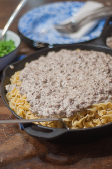Easy Hamburger Stroganoff