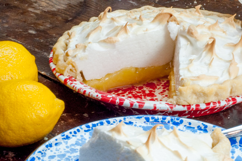 Lemon Meringue Pie from Farmwife Feeds #pie #recipe #lemon