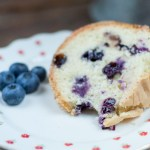 Fresh Blueberry Pound Cake