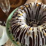 Orange Liquor Double Chocolate Bundt Cake
