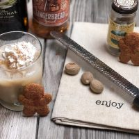 Gingerbread Baileys Holiday Cocktail