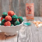 White Chocolate Gingerbread Rum Balls