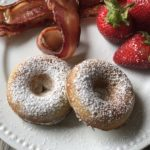 Homemade Rhubarb Donuts