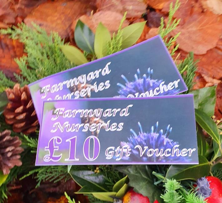 Farmyard Nurseries Gift Vouchers