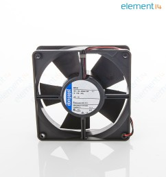 axial fan 4300 series ip54 ip68 12 v dc 119 mm 32 mm 45 dba 100 06 cu ft min [ 1185 x 1281 Pixel ]
