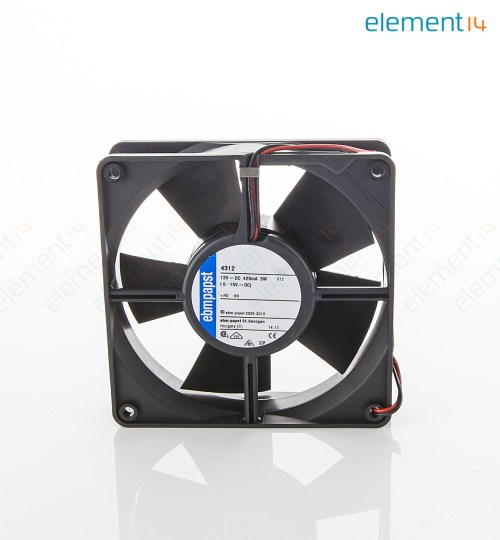 small resolution of axial fan 4300 series ip54 ip68 12 v dc 119 mm 32 mm 45 dba 100 06 cu ft min