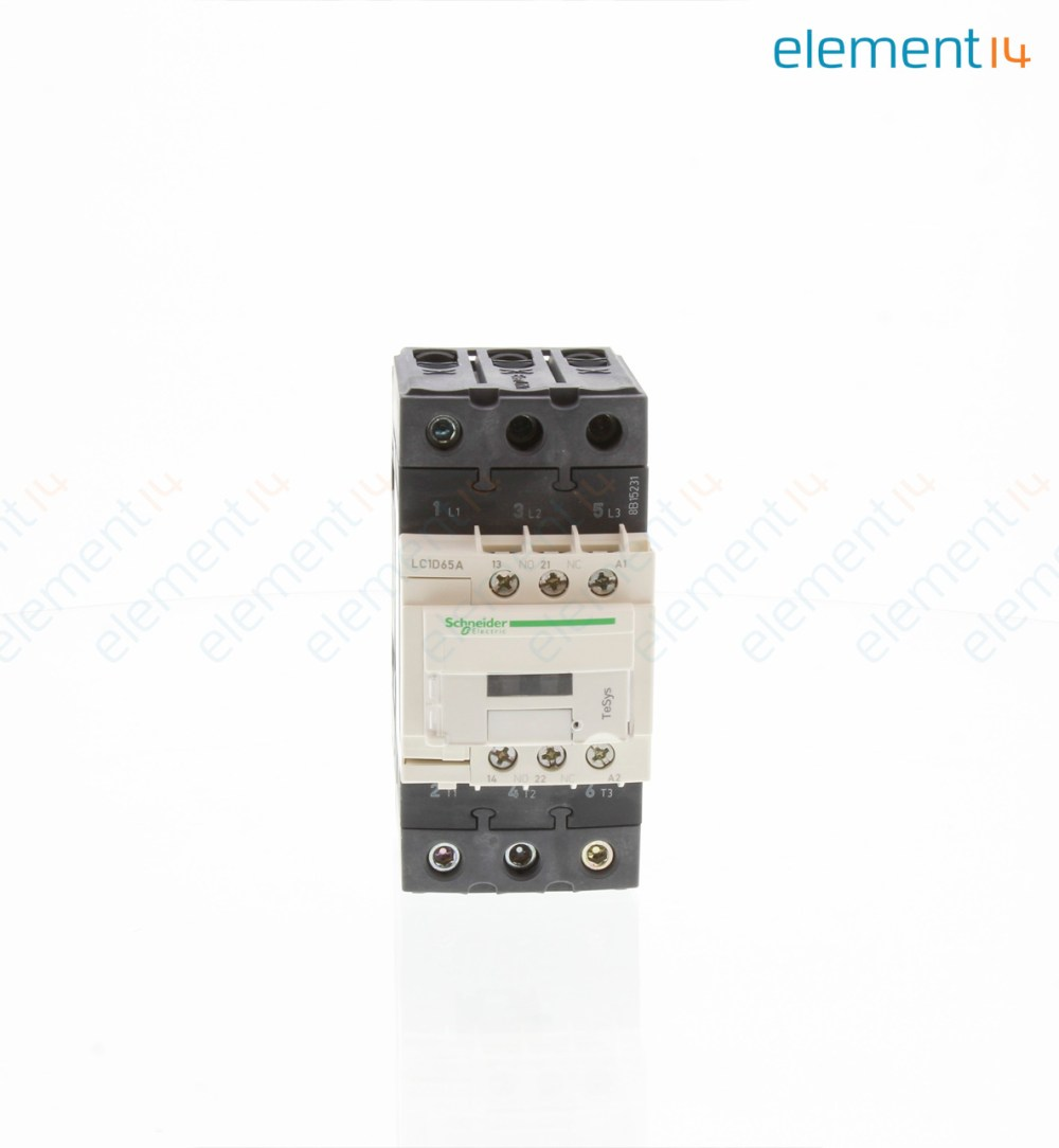 medium resolution of contactor tesys d contactor 65 a din rail panel 690 vac 3pst no 3 pole 50 hp