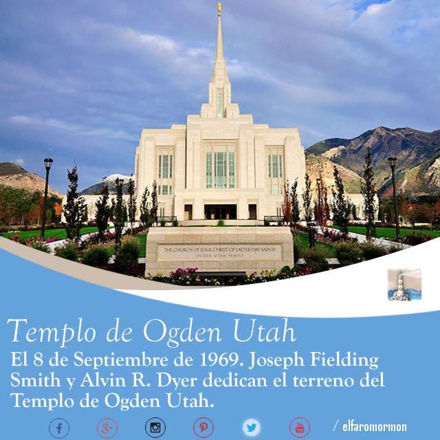 #EfeméridesEFM | 8 de Sep: Dedicación Templo de Odgen