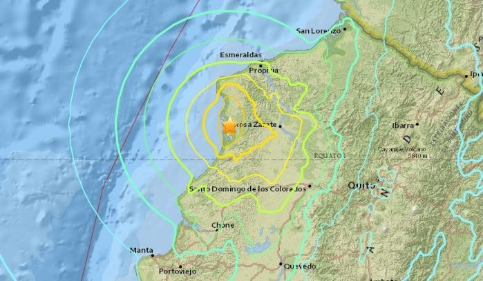 Comunicado Oficial – Terremoto Ecuador