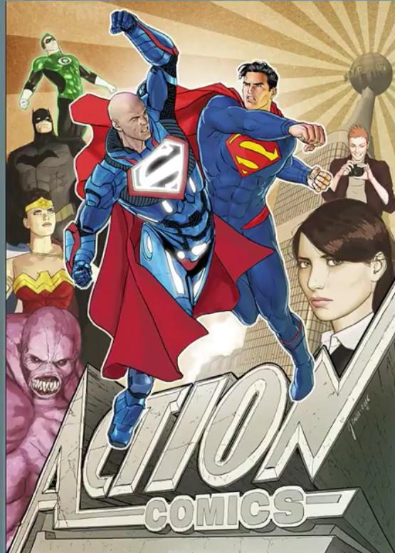 Rebirth: O renascimento da DC Comics - Action Comics