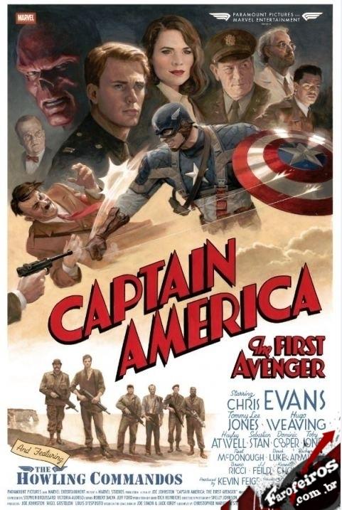 Capitão América - O Primeiro Vingador - Blog Farofeiros