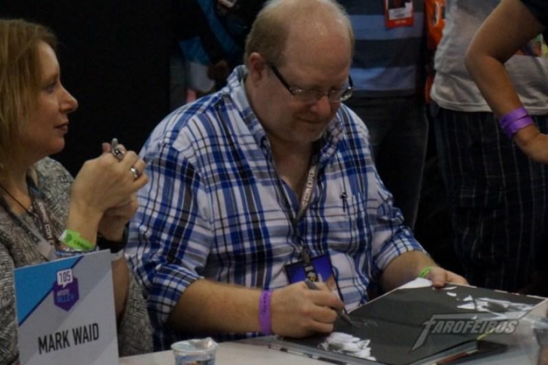 Farofeiros na CCXP 2015 - Mark Waid