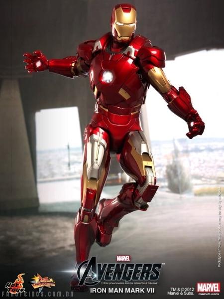 Homem de Ferro da Hot Toys