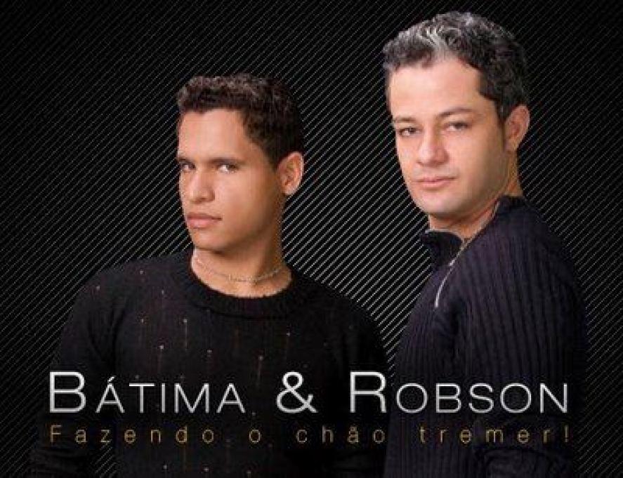 Bátima e Robson... não é o Batman e Robin!