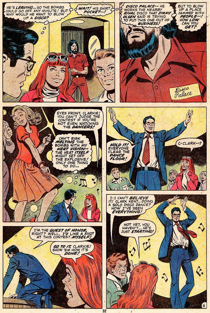 O dia em que Clark Kent desarmou uma bomba dançando