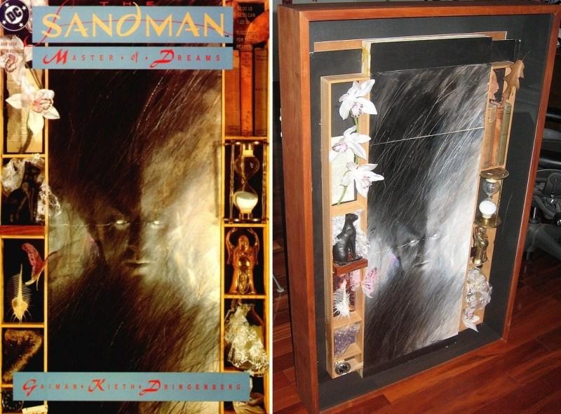 Capa de Sandman #1 de um ângulo diferente