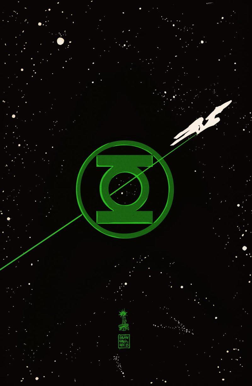 Star Trek encontrará Lanterna Verde nos quadrinhos