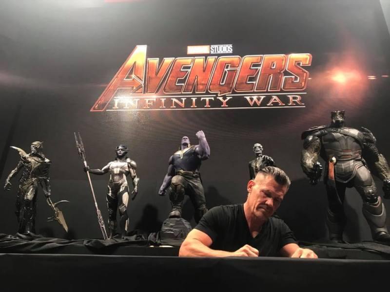 O Melhor da Marvel na SDCC 2017 - Guerra Infinita - Ordem Sombria -Josh Brolin