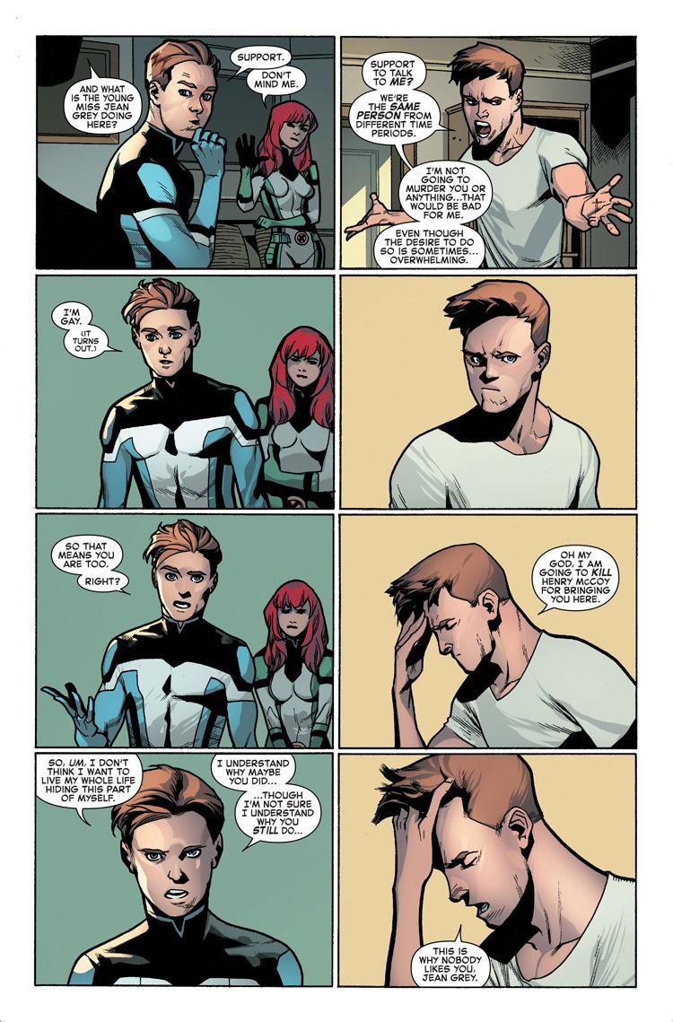 """Homem de Gelo fala para Homem de Gelo: """"Você é gay."""" - Uncanny X-Men #600 - Blog Farofeiros"""