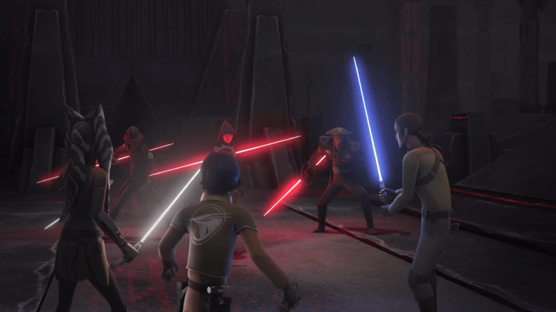 Star Wars Rebels - Jedis contra Inquisitores