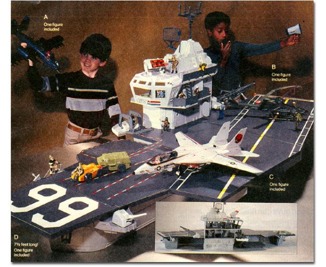 USS Flagg – O porta aviões do Comandos em Ação - Blog Farofeiros