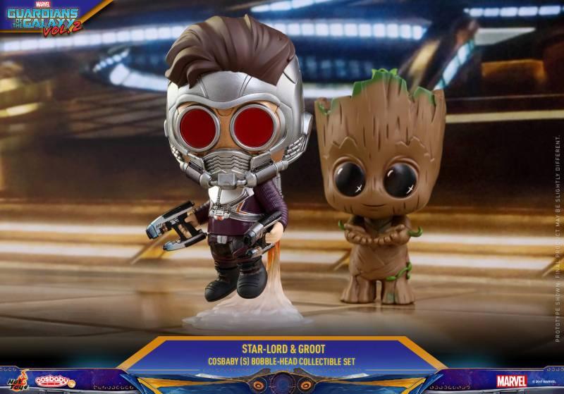 Hot Toys apresenta Cosbaby de Guardiões da Galáxia Vol. 2