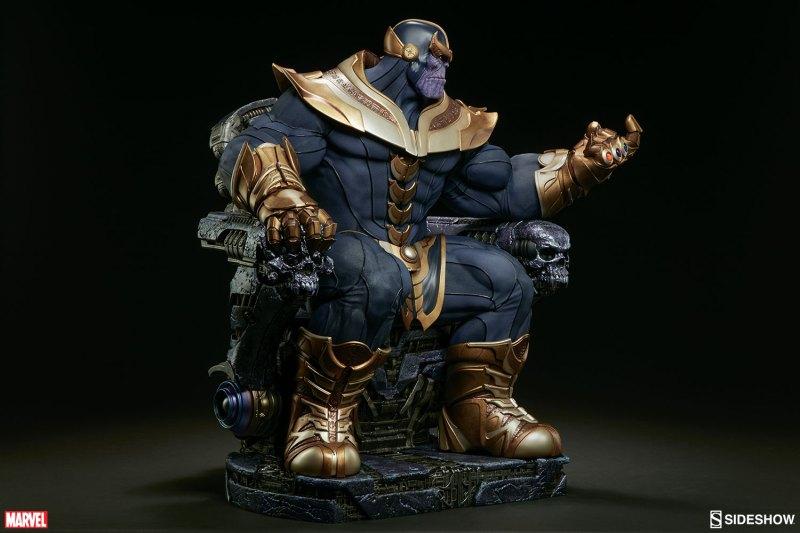Thanos no Trono da Sideshow