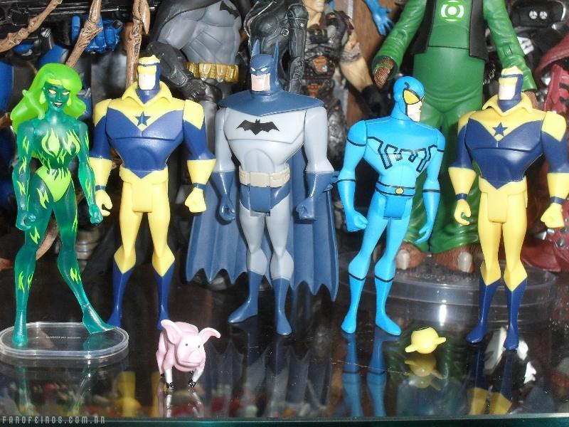 Chegaram meus bonecos da Liga da Justiça Sem Limites