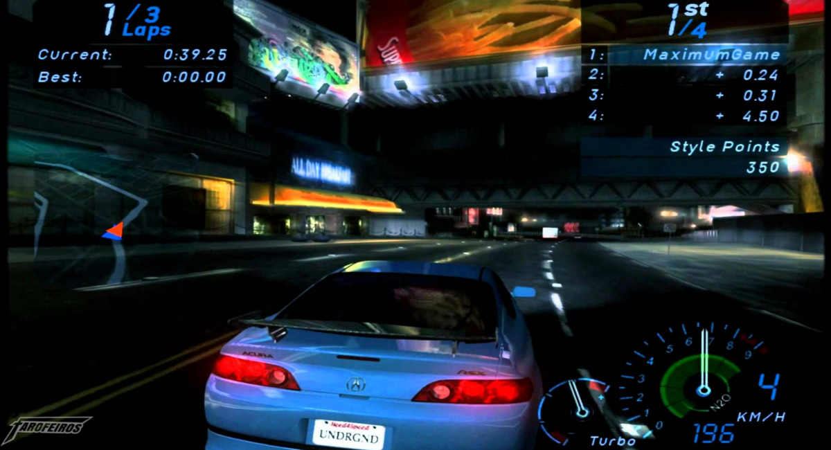 Need for Speed: Underground Gamecube