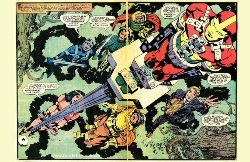 Jack Kirby é o cara - Novos Deuses - Blog Farofeiros