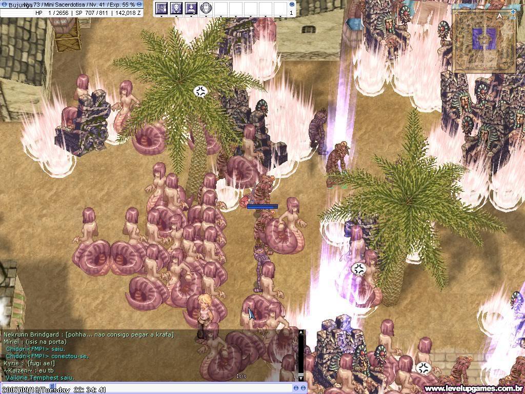 Cobertura do Fim do Mundo em Ragnarok Online