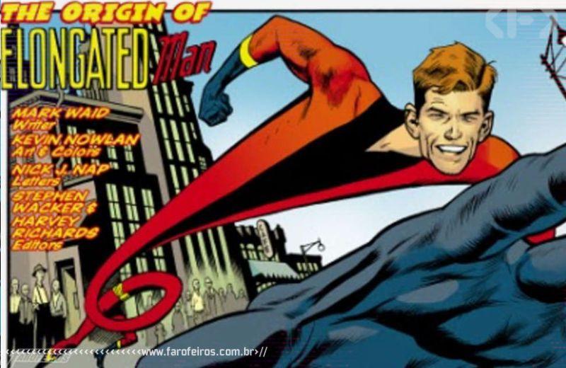 Super poderes ridículos - Homem Alongado - Blog Farofeiros