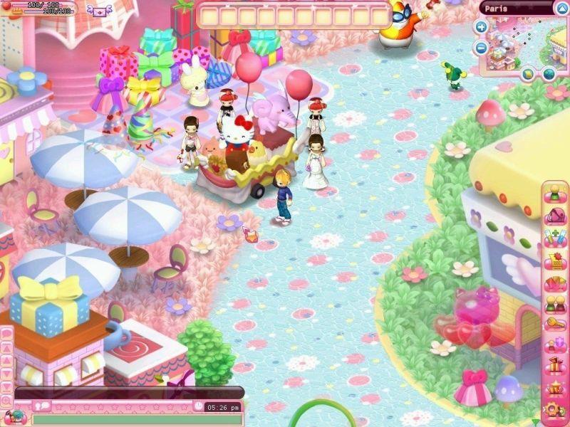 MMO da Hello Kitty - Blog Farofeiros