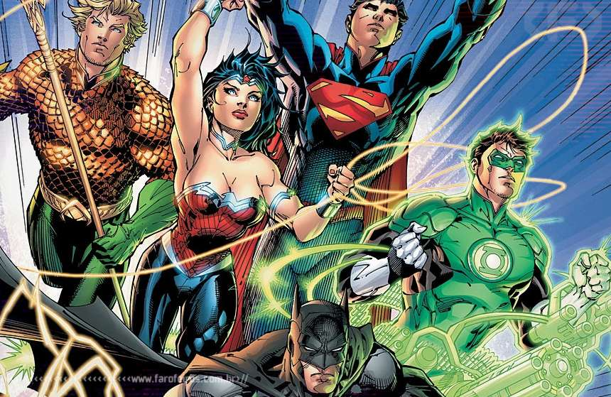 Preview de DC Comics - The New 52 - Novos 52 - Blog Farofeiros