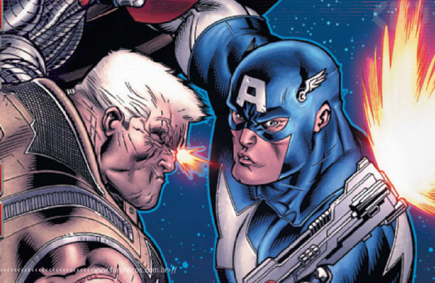 X-Sanction - Cable - Capitão América - Blog Farofeiros
