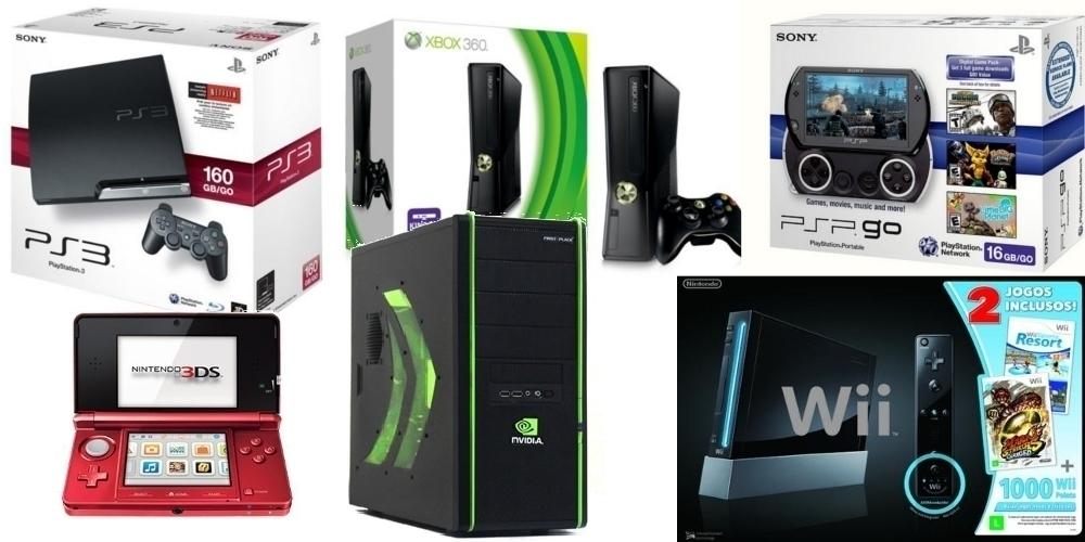 Dicas de Games para presentes de Natal 2011