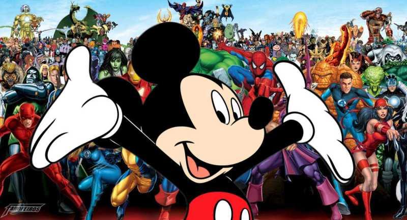 Marvel Disney - Bons gráficos de vendas virou a força motriz da Marvel-Mickey - Disney pagou 52 bilhões de dólares pela Fox - Novidades sobre o Disney+