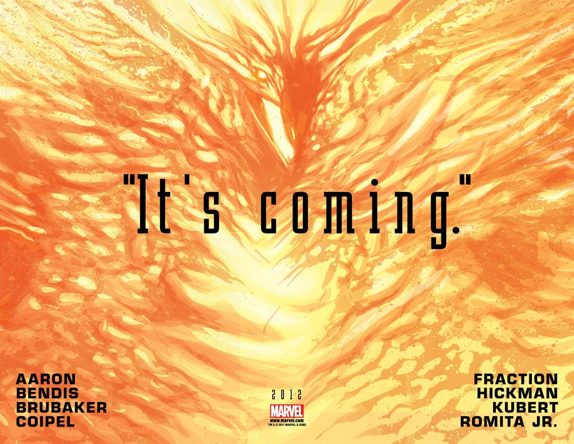 Vingadores Vs X-Men é anunciado - A Fênix está chegando.