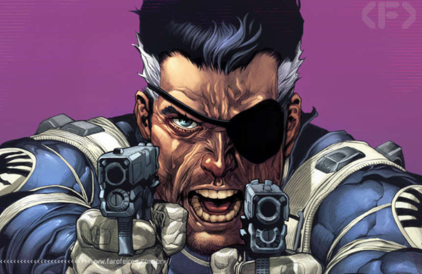 Nick Fury - Clássico - Blog Farofeiros