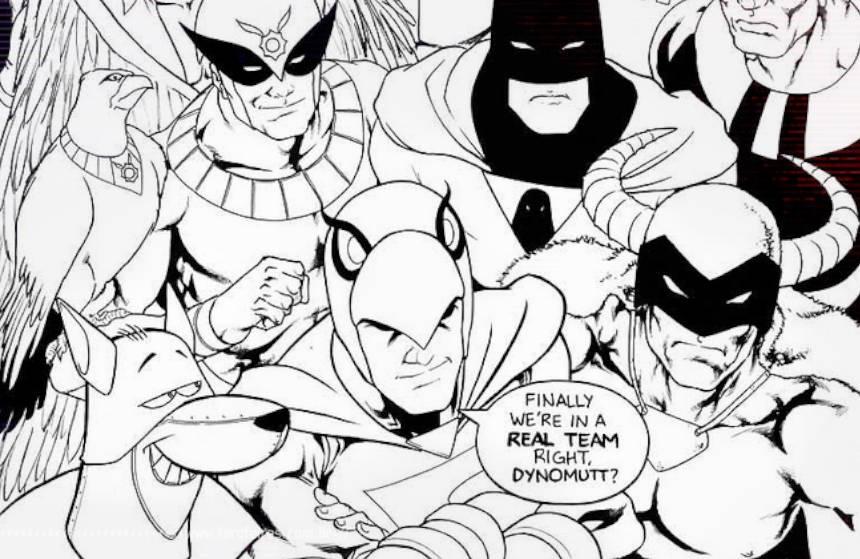 Liga da Justiça Hanna-Barbera por Daniel HDR - Blog Farofeiros