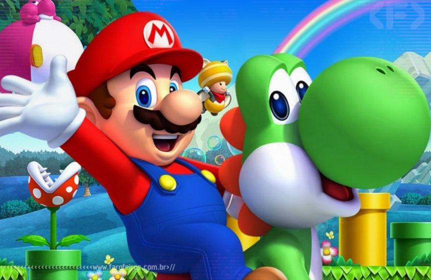 Super Mario - Blog Farofeiros