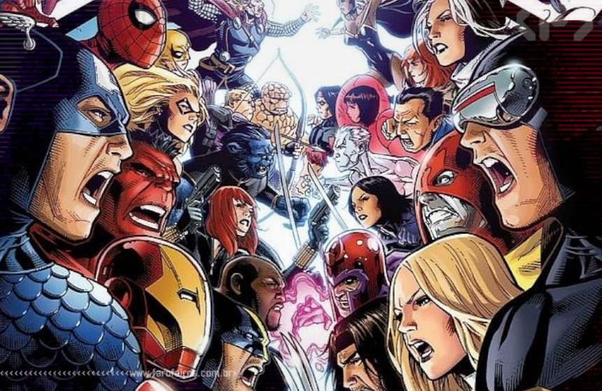 Preview de Avengers vs X-Men #1 - Vingadores Vs X-Men - Blog Farofeiros