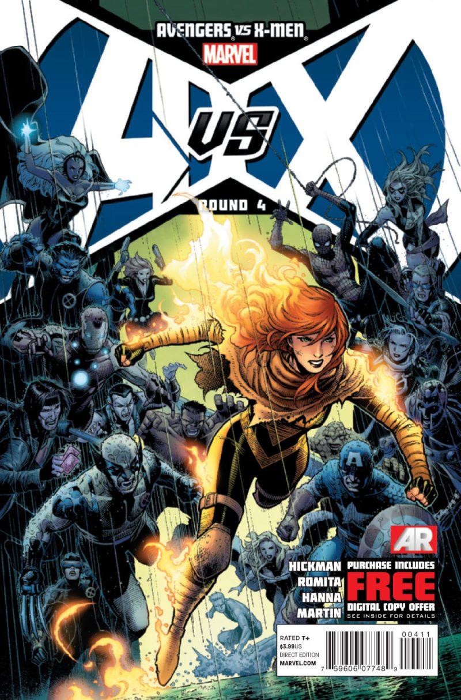 Avengers Vs X-Men #4 - Blog Farofeiros