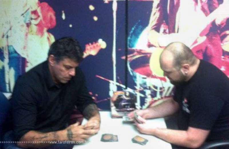 Alexandre Frota jogando Magic - Blog Farofeiros