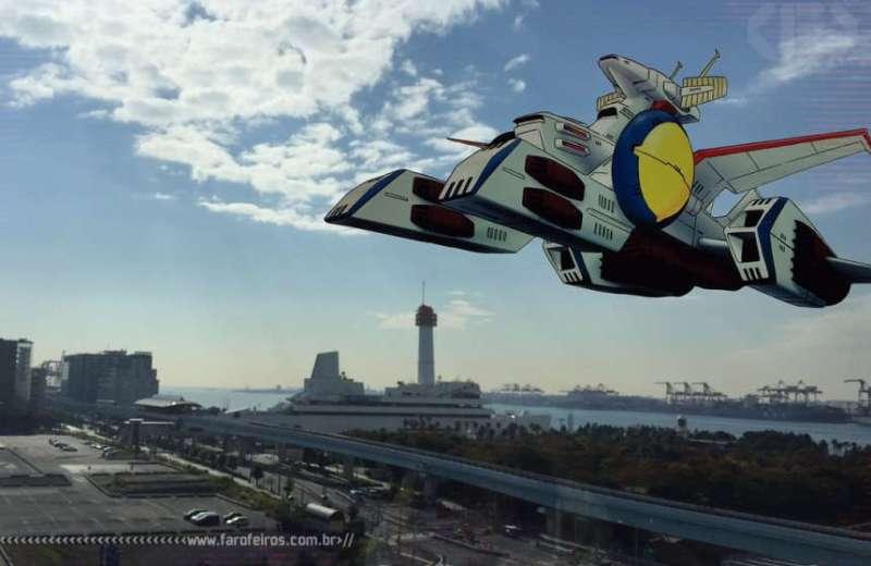 Hotel temático de Gundam - Blog Farofeiros